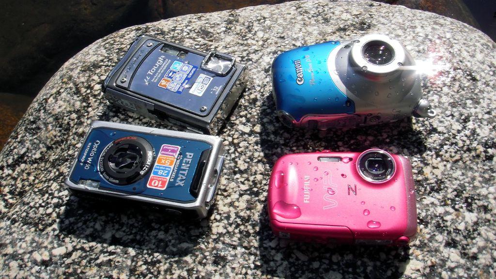 Vi tester kameraene som tåler vann
