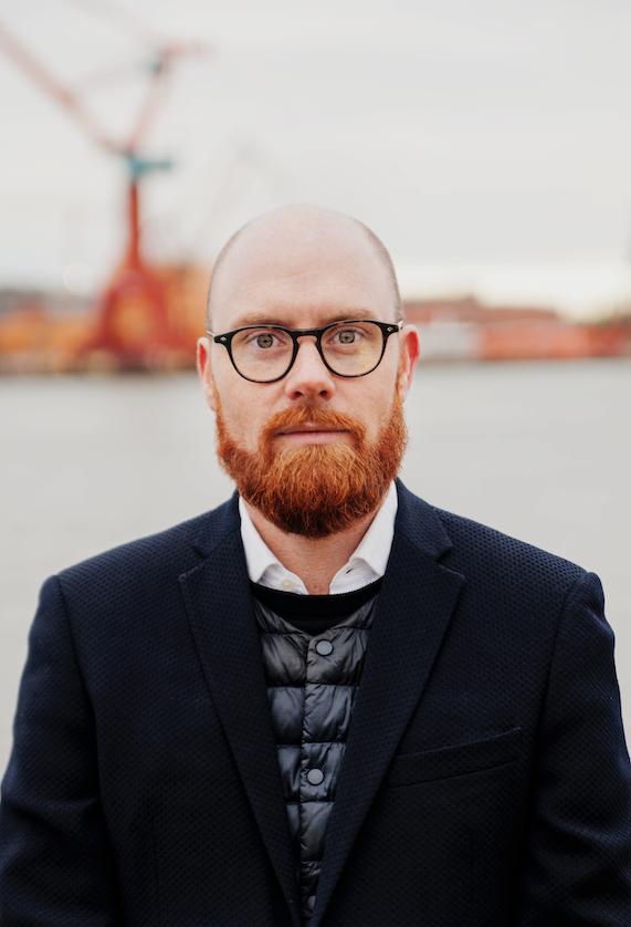 Nils Wijkmark, Bolts regionsjef for Nord-Europa.