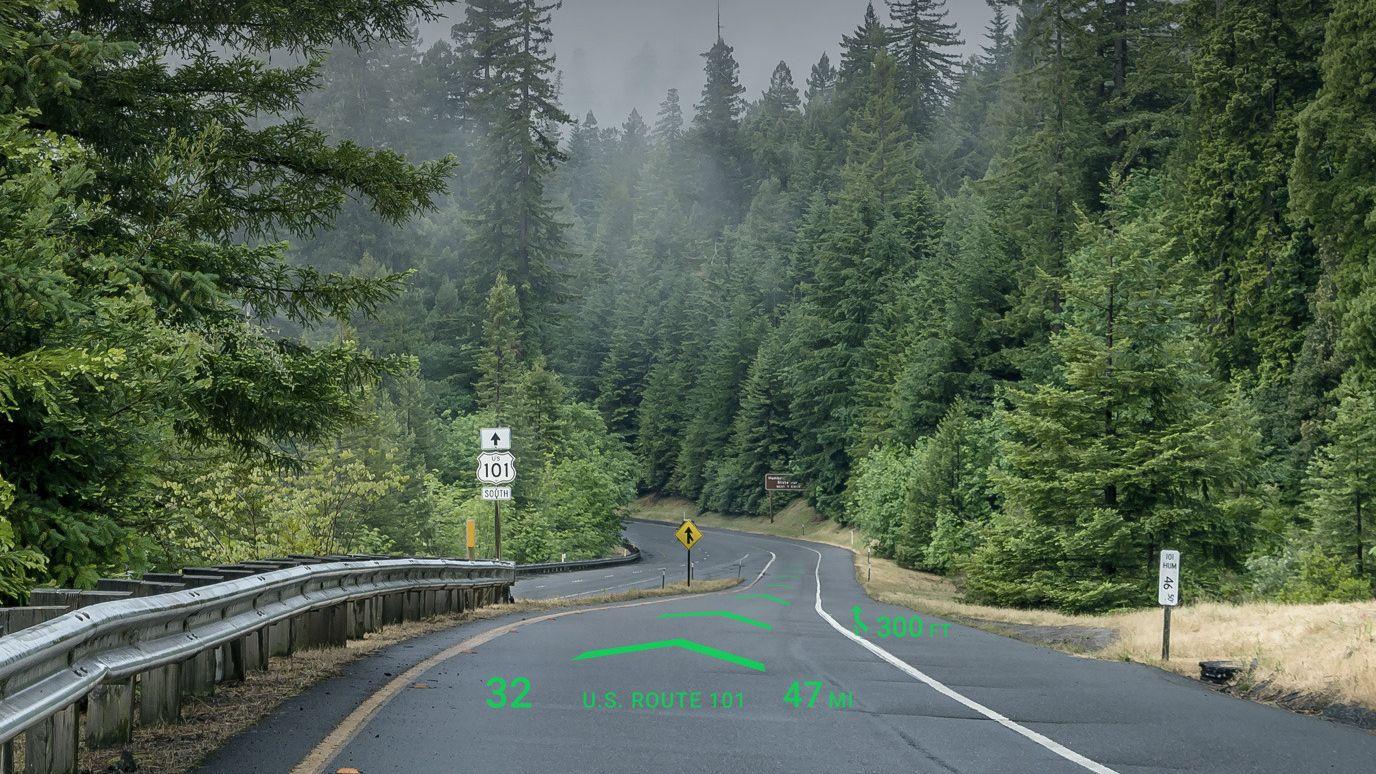 Nå har bilene fått «holografisk» navigasjonssystem