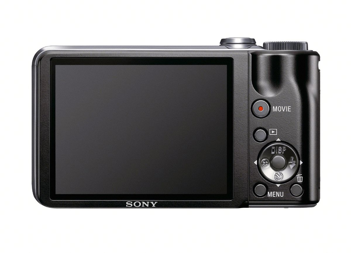 7,6cm LCD-skjerm på baksiden.