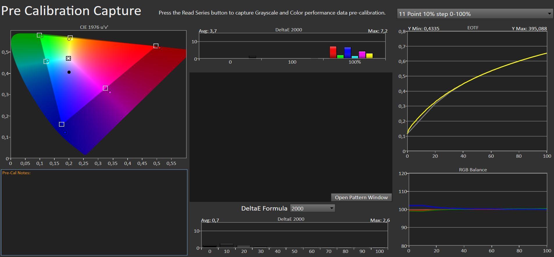 Asus-skjermen har gode moduser ut av esken. Og du trenger ikke bekymre deg for å gjøre noen flere justeringer. Her er Racing-modusen som er blant de du kan velge mellom.