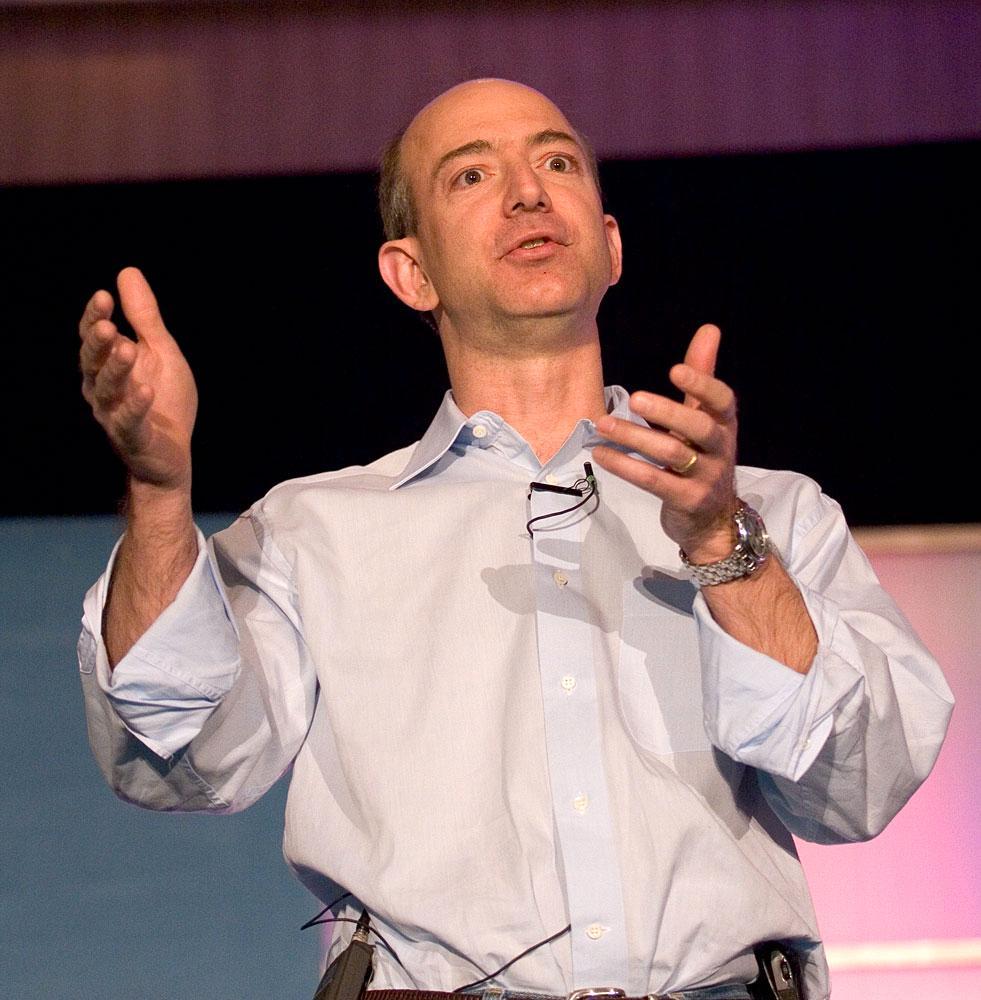 Jeff Bezos. Foto: James Duncan Davidson