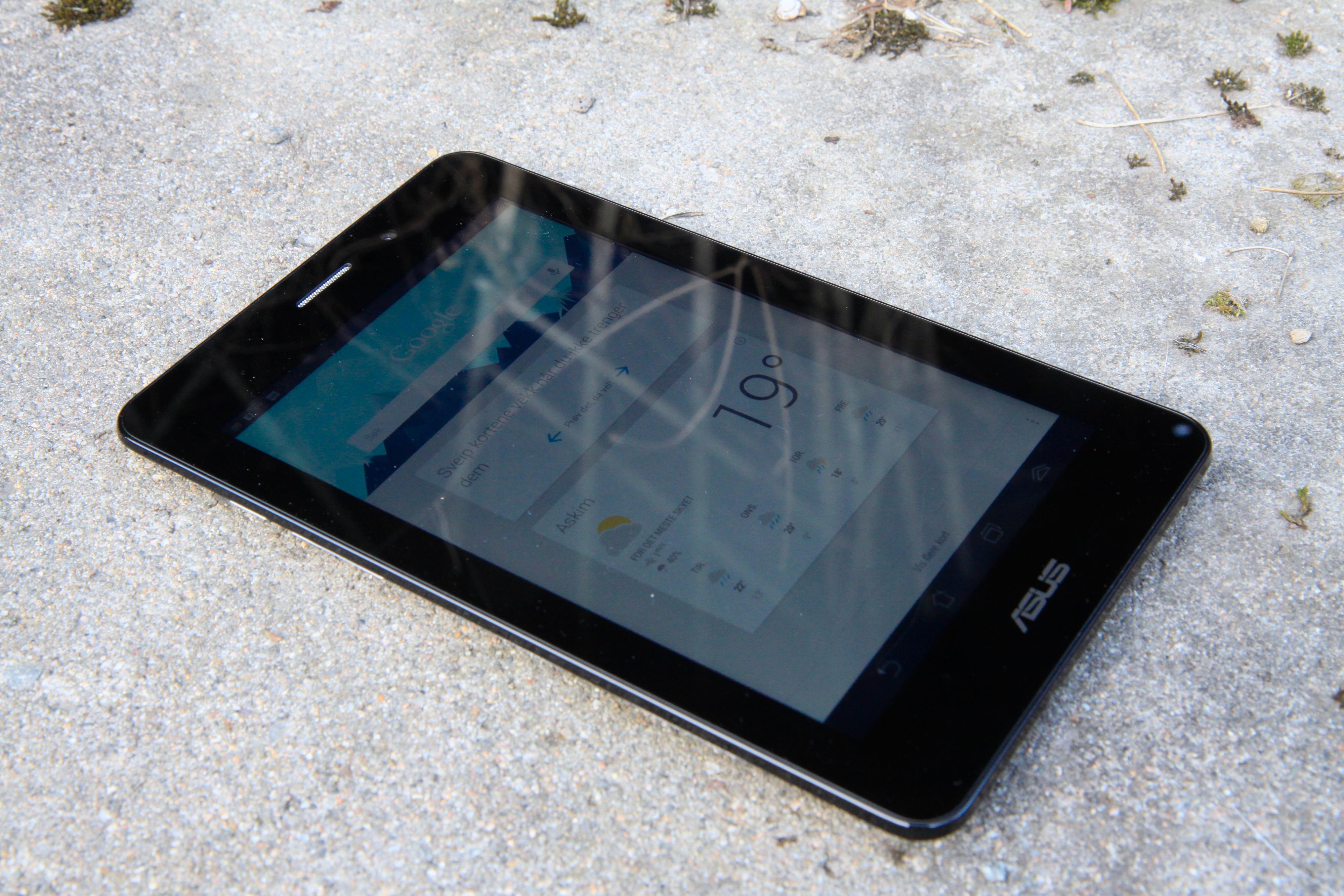 Den sju tommer store skjermen har ok bildekvalitet, men er ikke like god som den på Nexus 7.Foto: Kurt Lekanger, Amobil.no