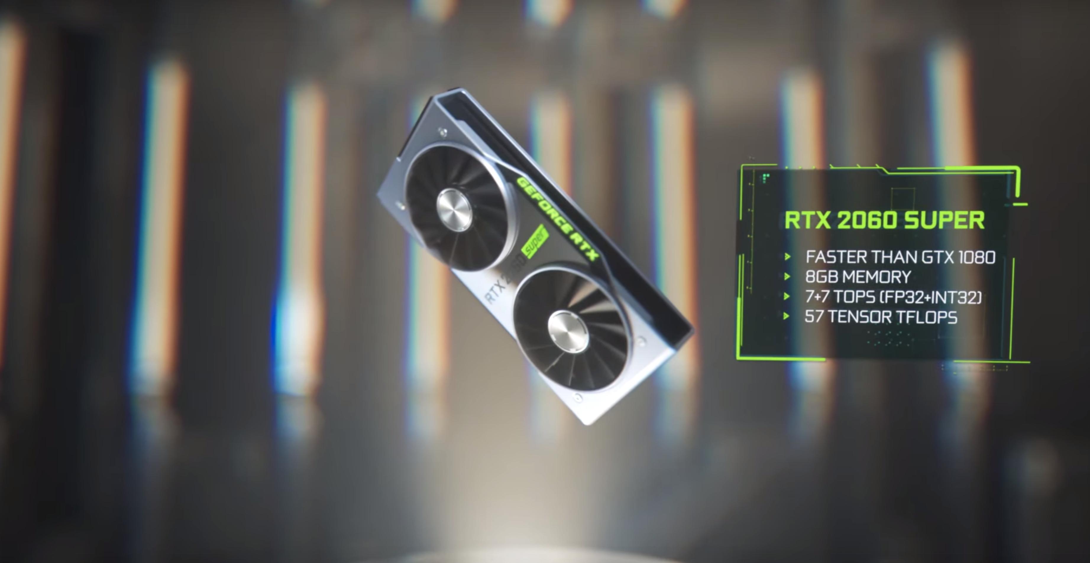 Nye RTX 2060 Super.