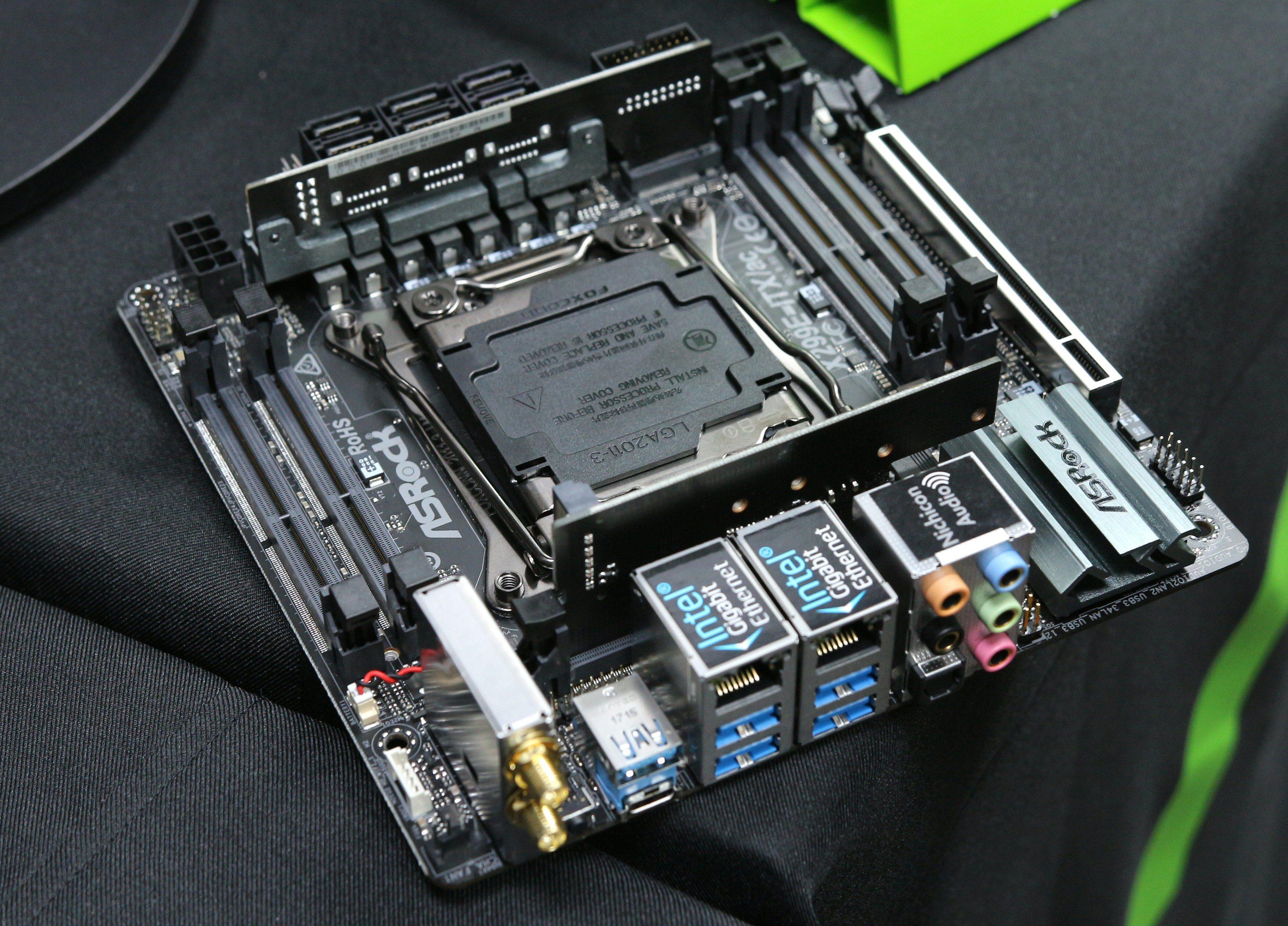 Det lille monsteret: ASRock X299E-ITX/ac.