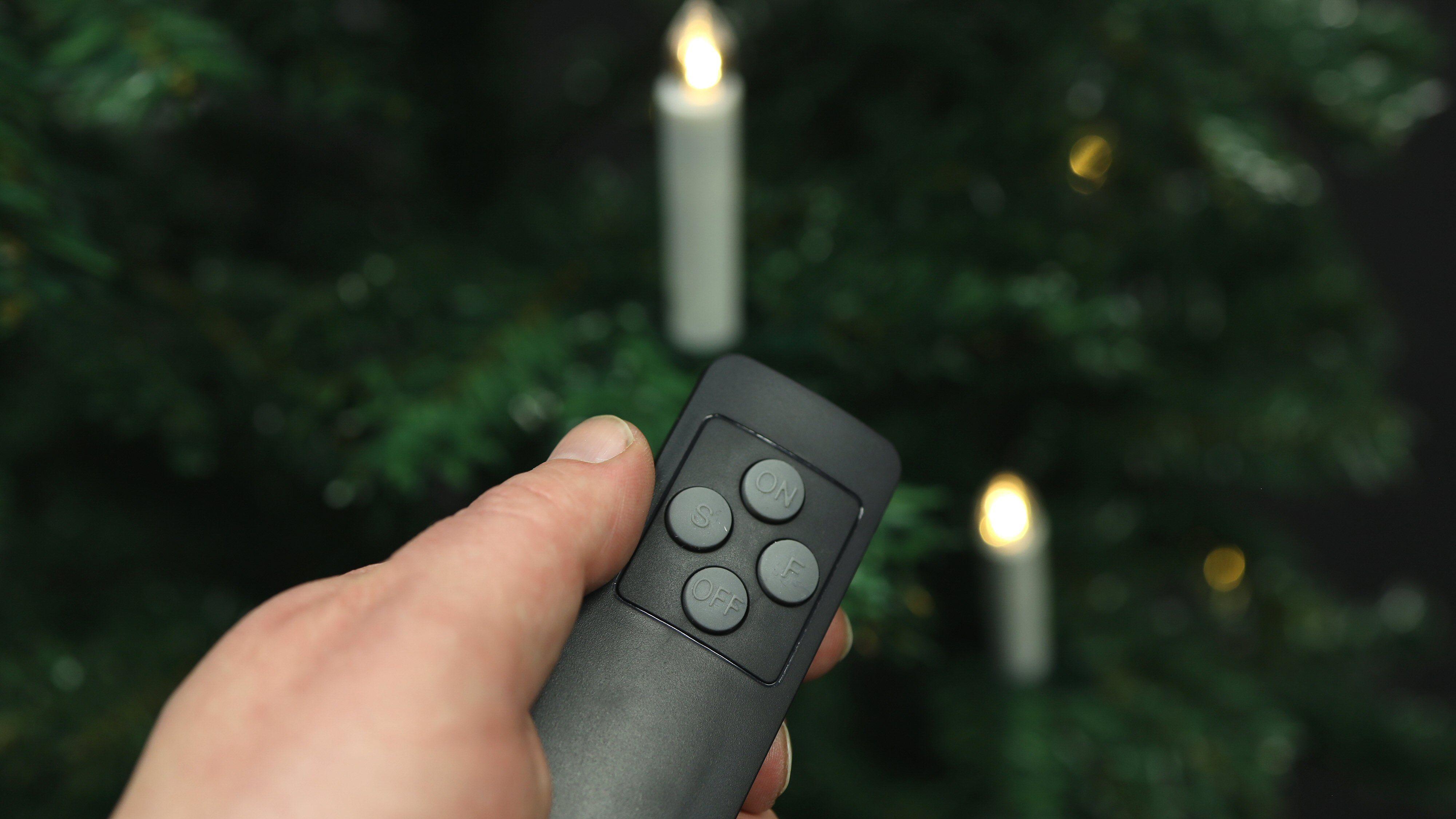 Så tenner vi et lys i kveld... med fjernkontrollen.