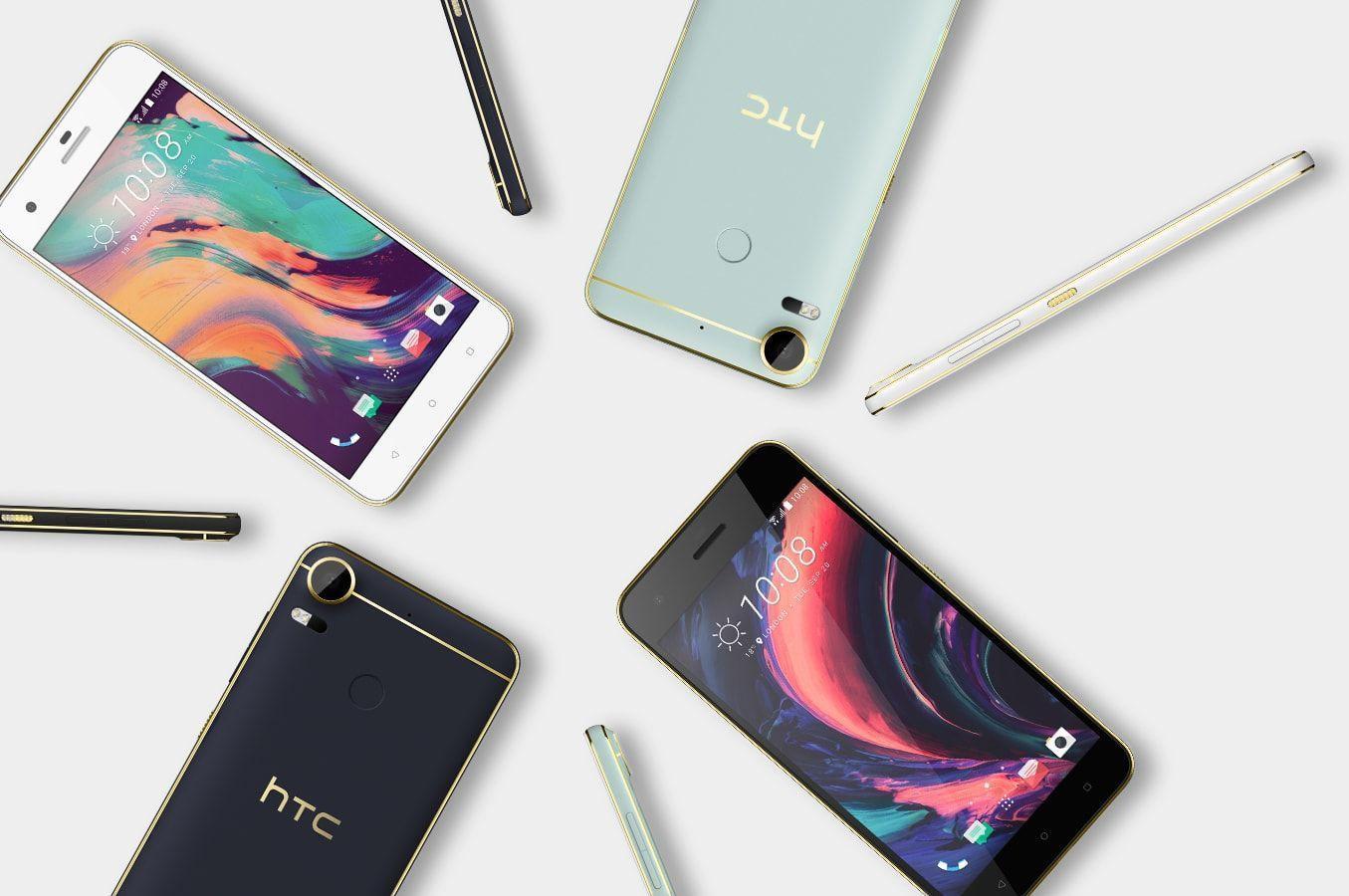 HTC Desire 10.