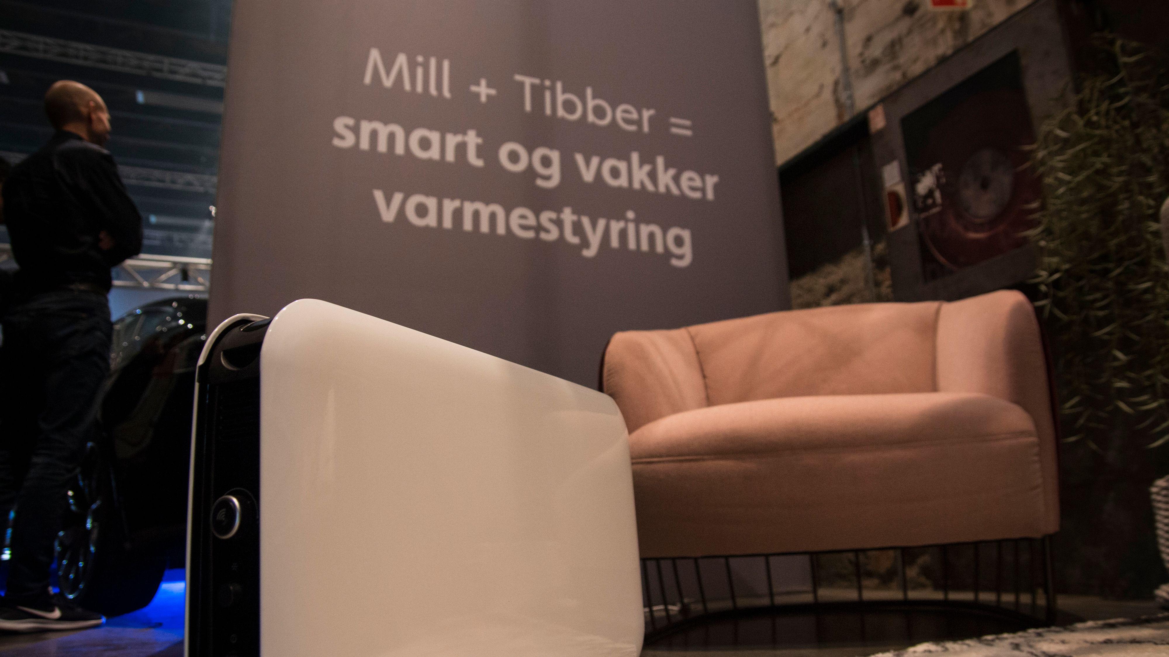 Med kompatible Mill-ovner skal Tibber kunne ta over hele styringen av oppvarmingen i boligen. Det skal gjøre det billigere for deg.