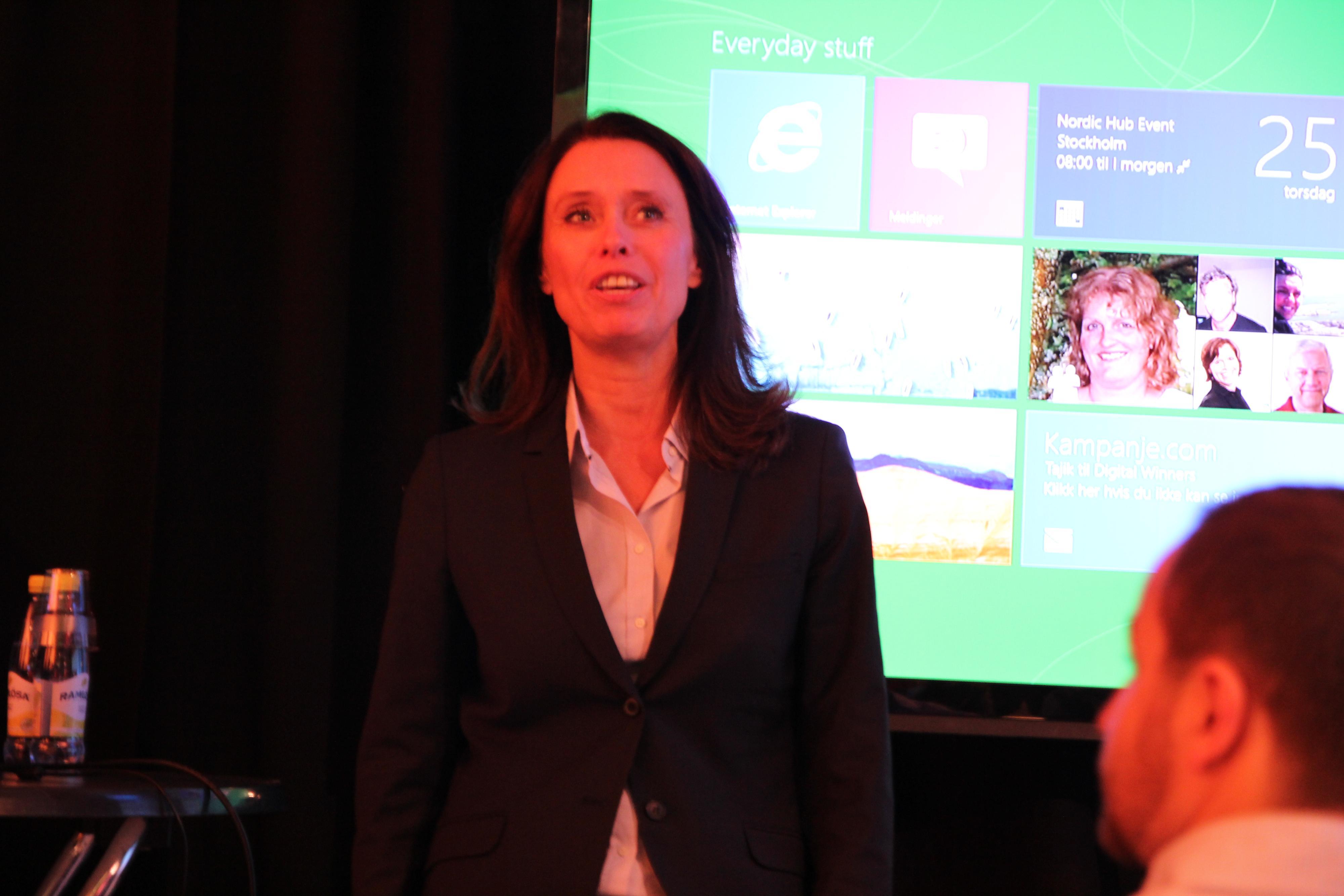 Administrerende direktør i Microsoft Norge, Hege Skryseth.Foto: Niklas Plikk, Hardware.no