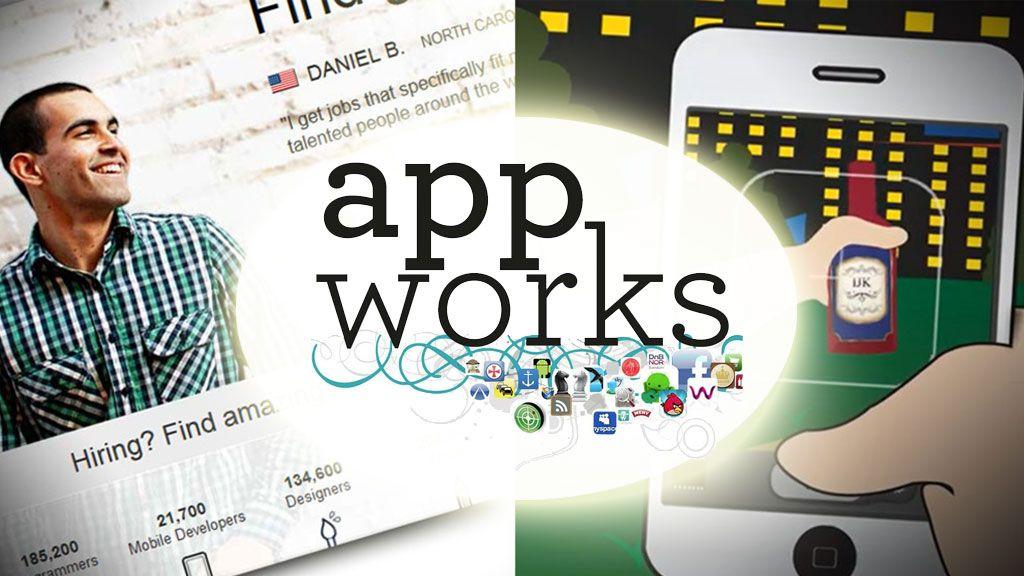 Bygger apper med frilansere