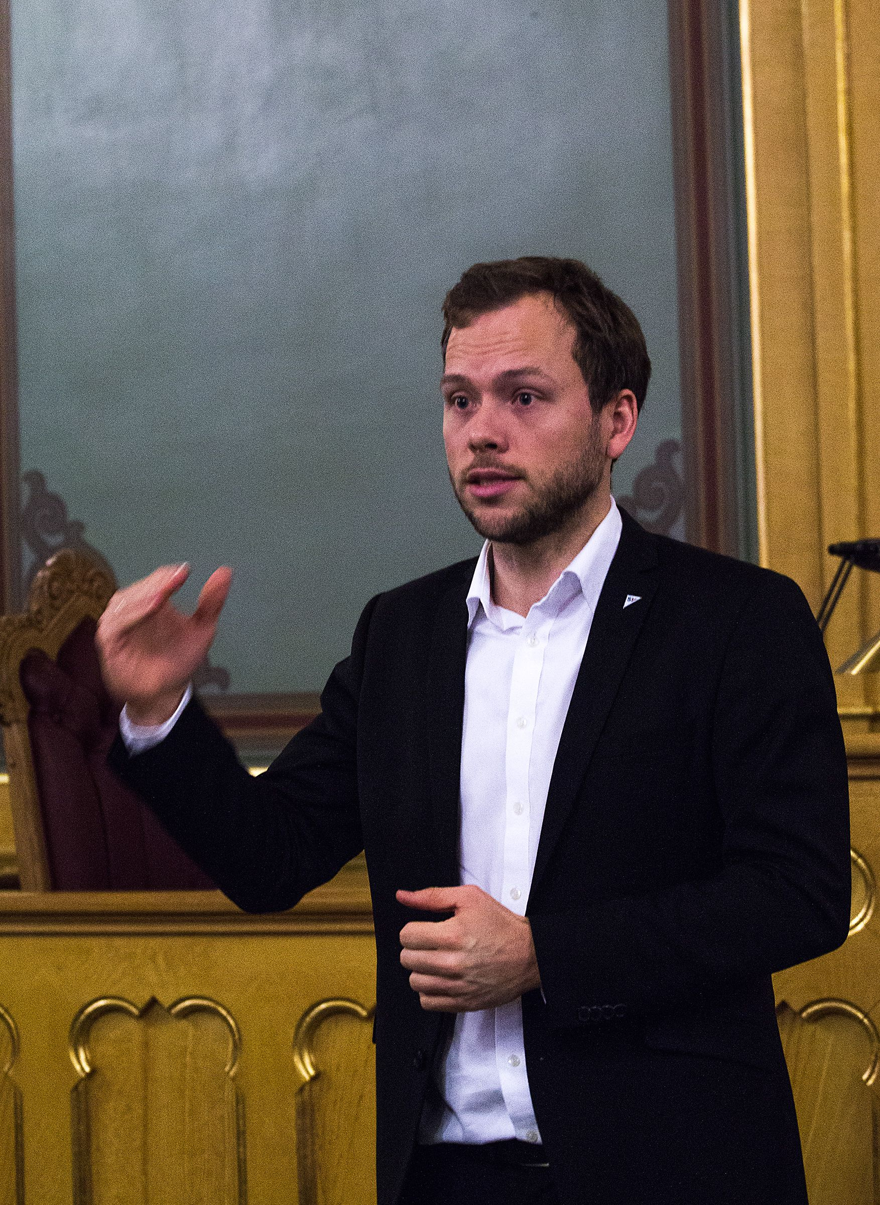 Audun Lysbakken, Sosialistisk Venstreparti.Foto: Varg Aamo, Hardware.no
