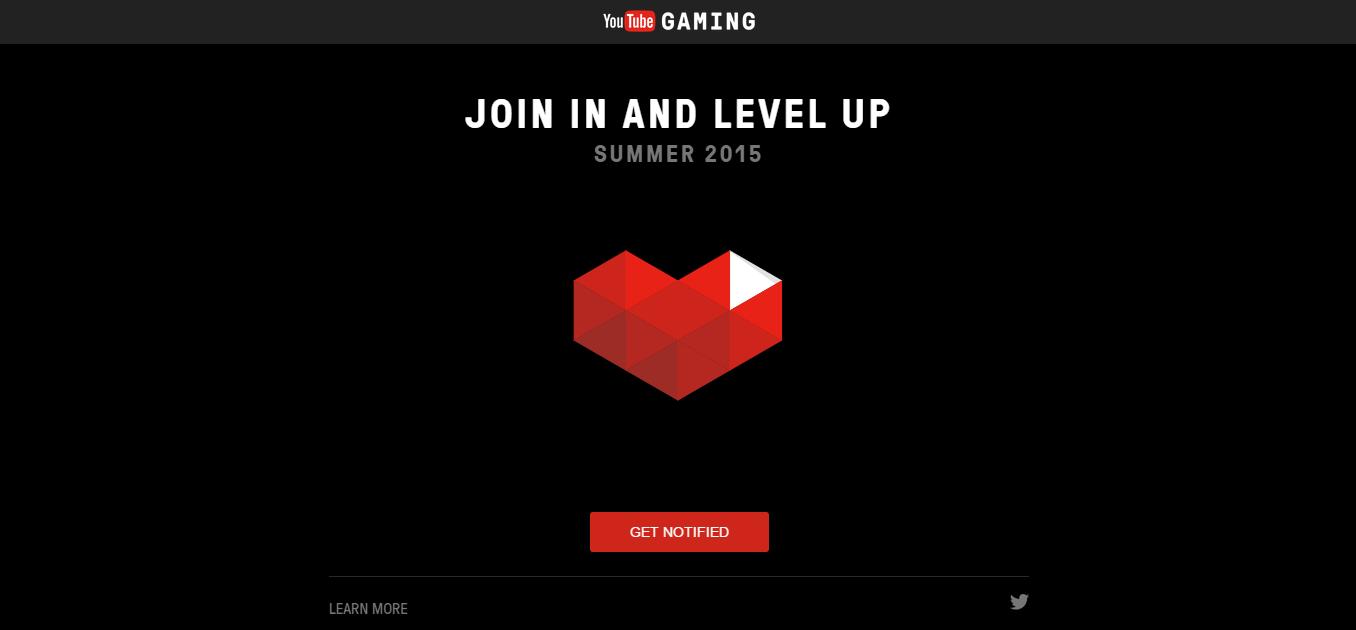 Foreløpig er YouTube Gaming-siden ganske tom, men ting vil komme på plass utover sommeren. Foto: Skjermdump/YouTube Gaming
