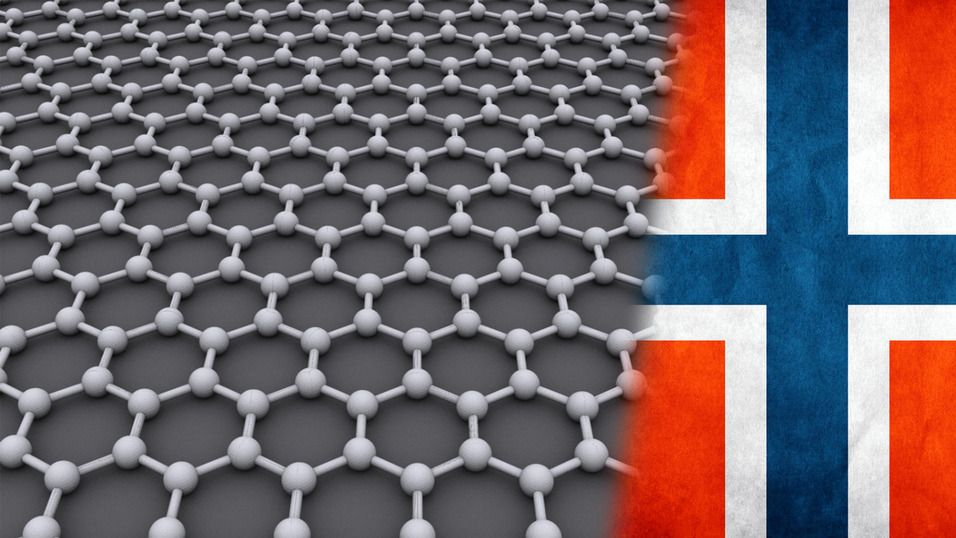 Norge er ett av landene som har kommet langt i utviklingen av grafén.Foto: AlexanderAlUS