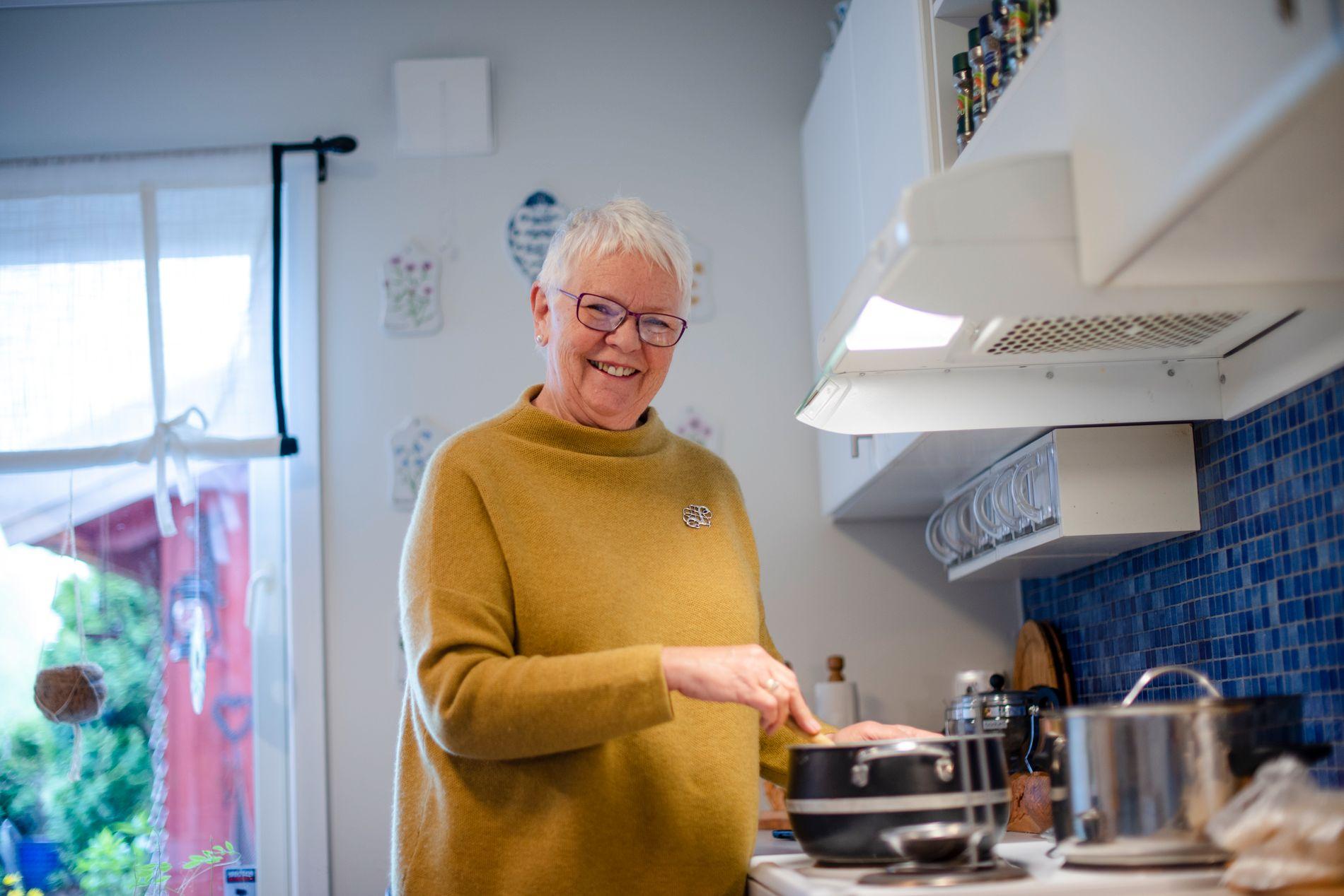 VIL HA INNFLYTELSE: Toril har vært leder av eldrerådet i Drammen kommune (2015-2019) og i Pensjonistforbundets fylkesforening i Buskerud er hun nå nestleder.