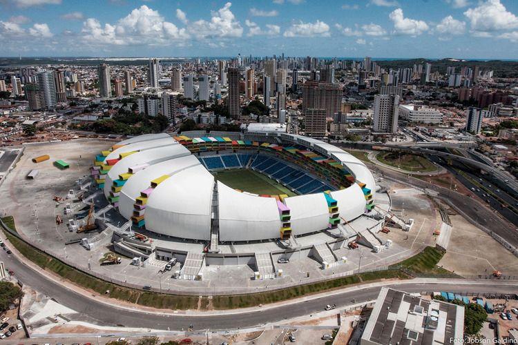 Arena das Dunas i Natal som leilighetskompleks.Foto: 1week1project