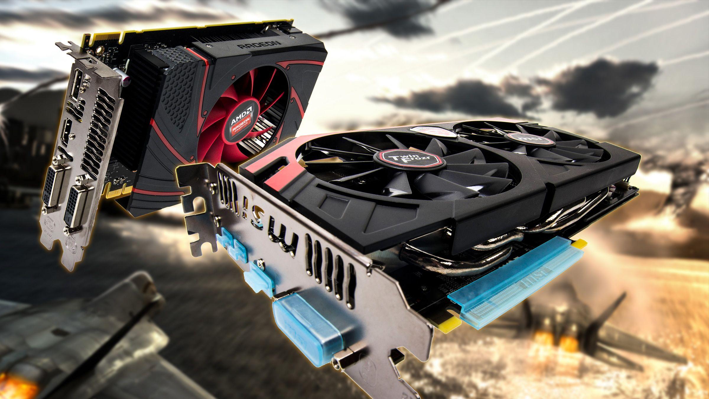 AMD Radeon R7 260X og MSI Radeon R9 280X