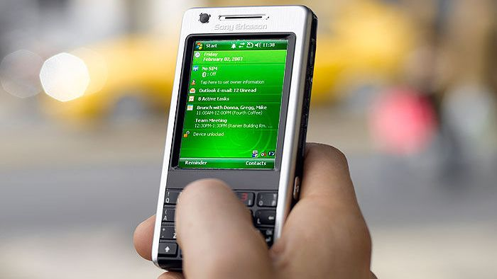 Sony Ericsson med Windows-mobil