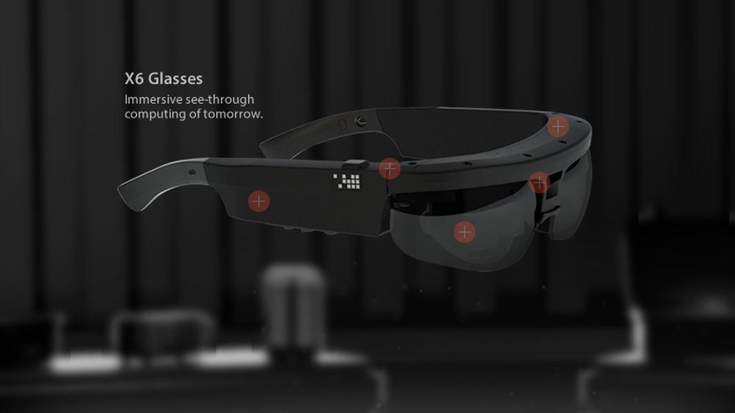 Lanserer avanserte spionbriller som ligner på Google Glass