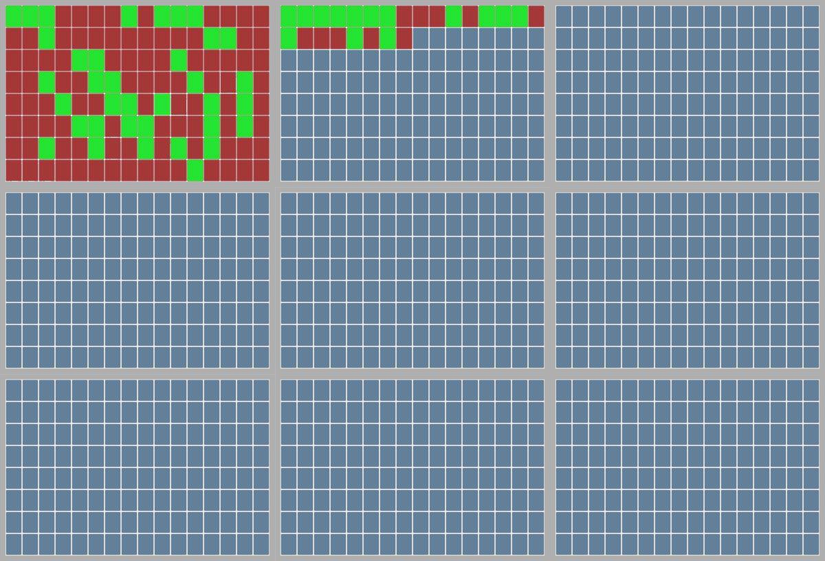 Defragmentert, klikk for større versjon