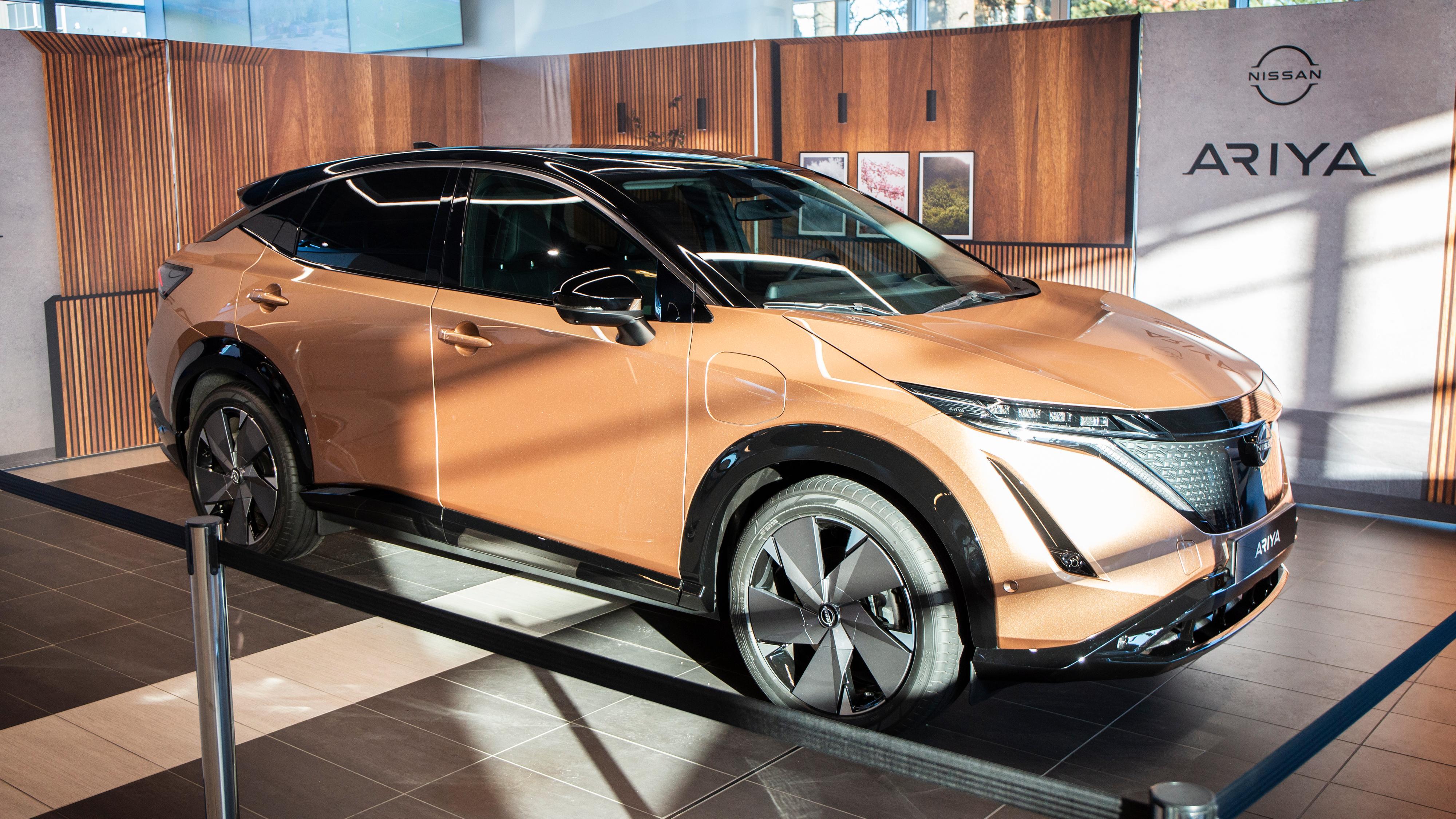 Nissan Ariya kommer til Norge sommeren 2022. Prisene er nå klare.