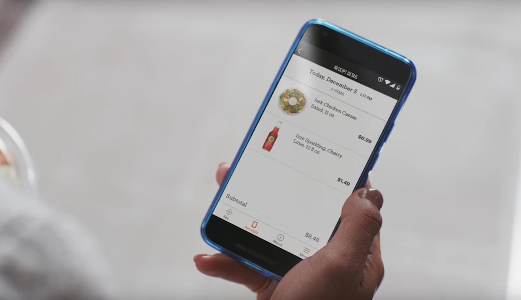 Appen holder kontroll på hva du har handlet i en virtuell handlevogn, og belaster deg automatisk via Amazon-kontoen. Bilde: Amazon