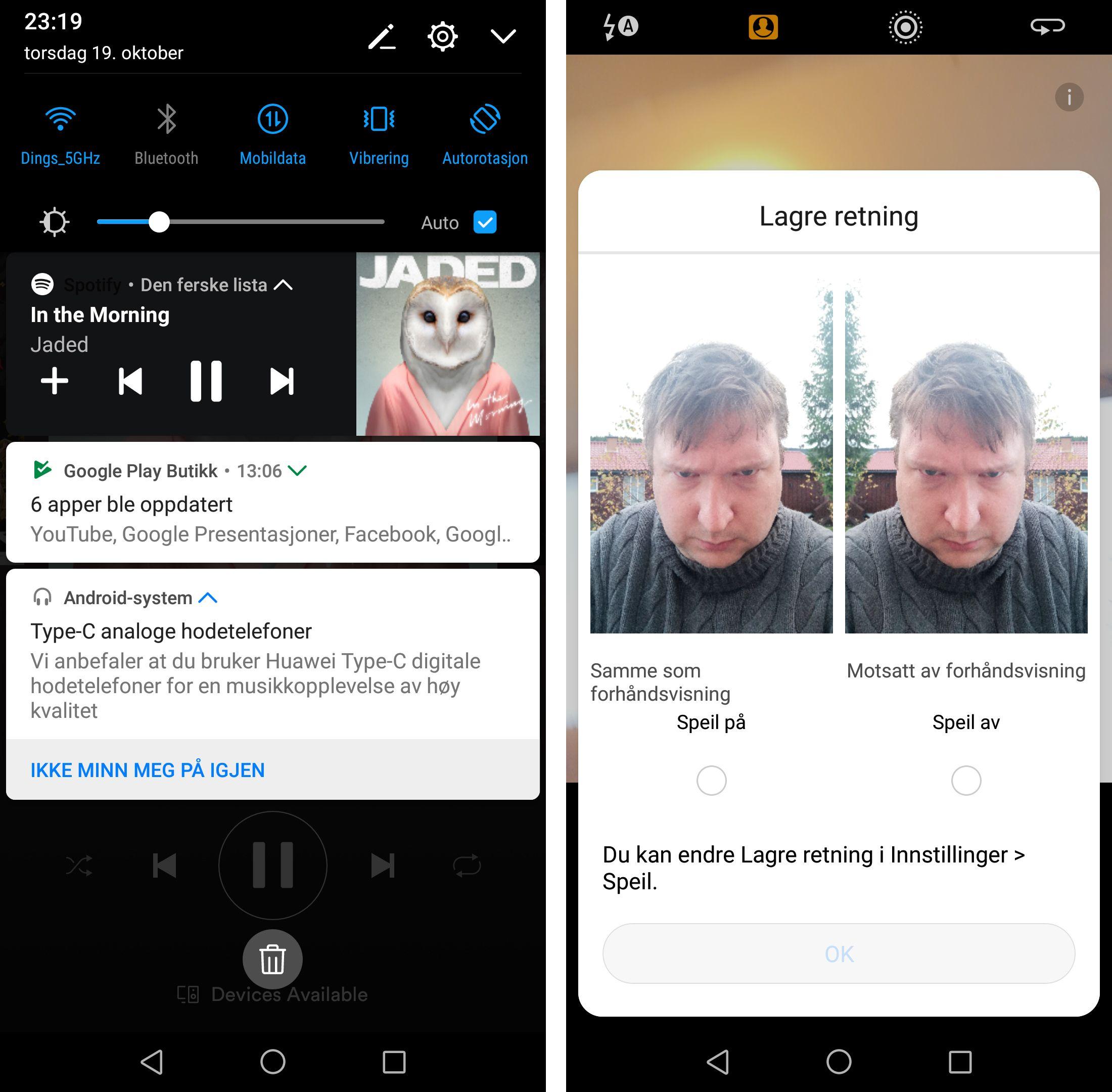 Huawei Mate 10 Pro Test Tek.no