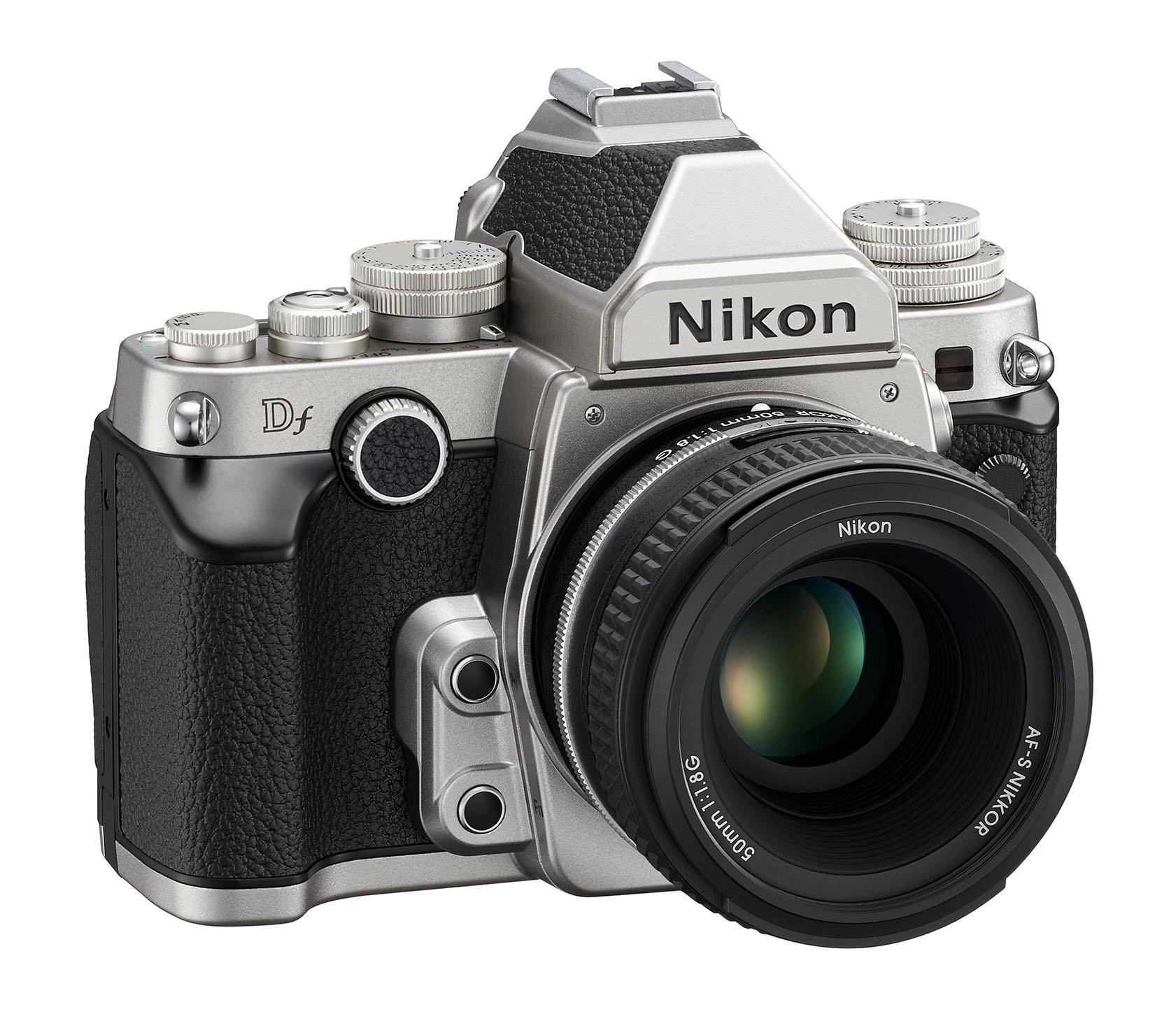 Nikon og deres nye Df-modell sliter.Foto: Nikon