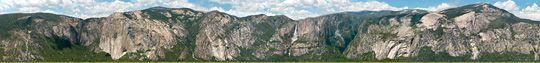 xRez Studios: The Yosemite Extreme Panoramic Imaging Project. Gigapikselfoto.