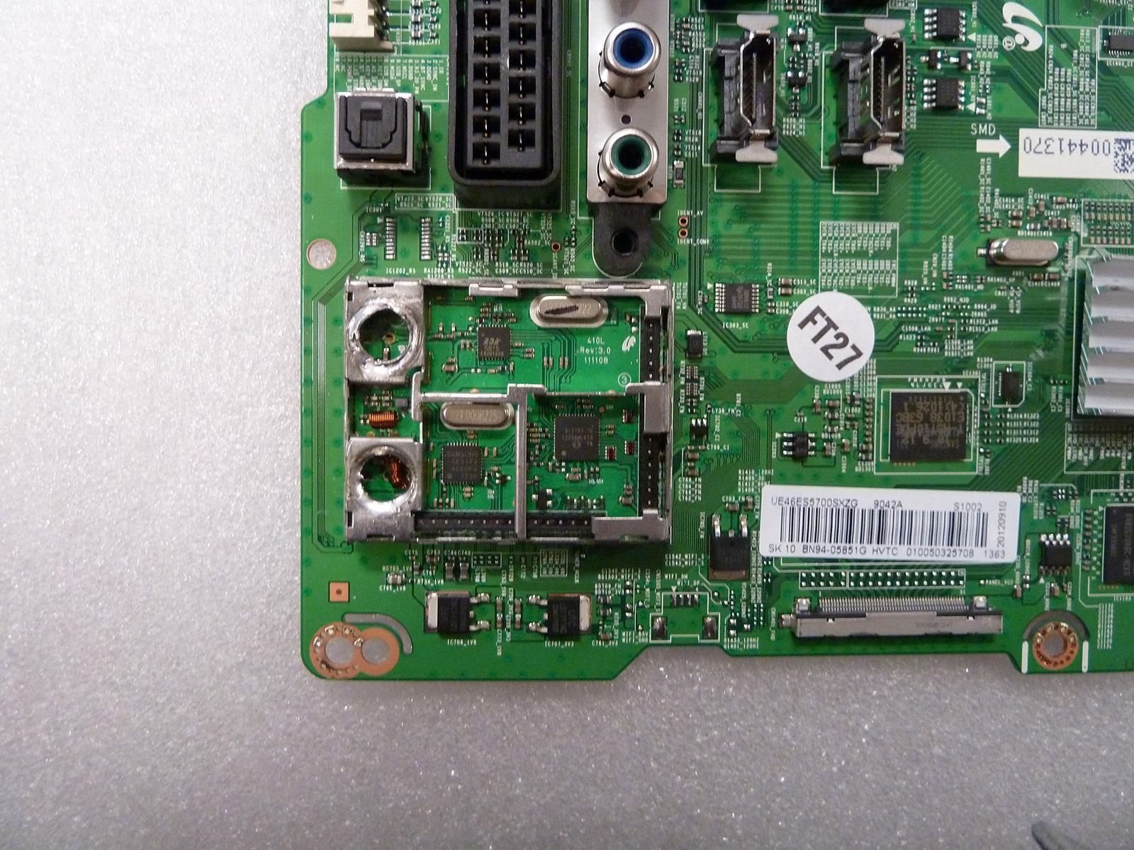 Antenneinngangene er fjernet, og lisensen på denne TV-en hører fortiden til.Foto: Elektronisk Service