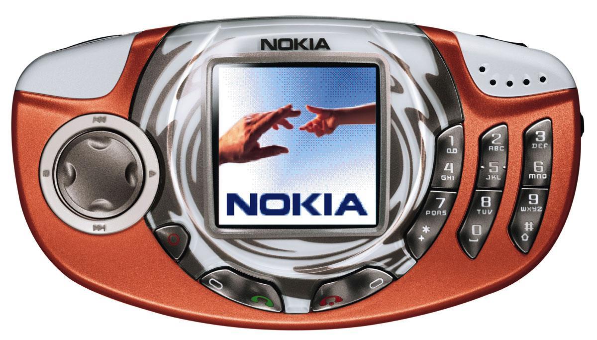 Fet lyd og fet design, mente Nokia Nokia om sin modell 3300.