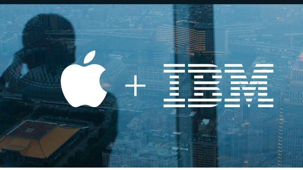 Samarbeidet mellom Apple og IBM er skikkelig i gang