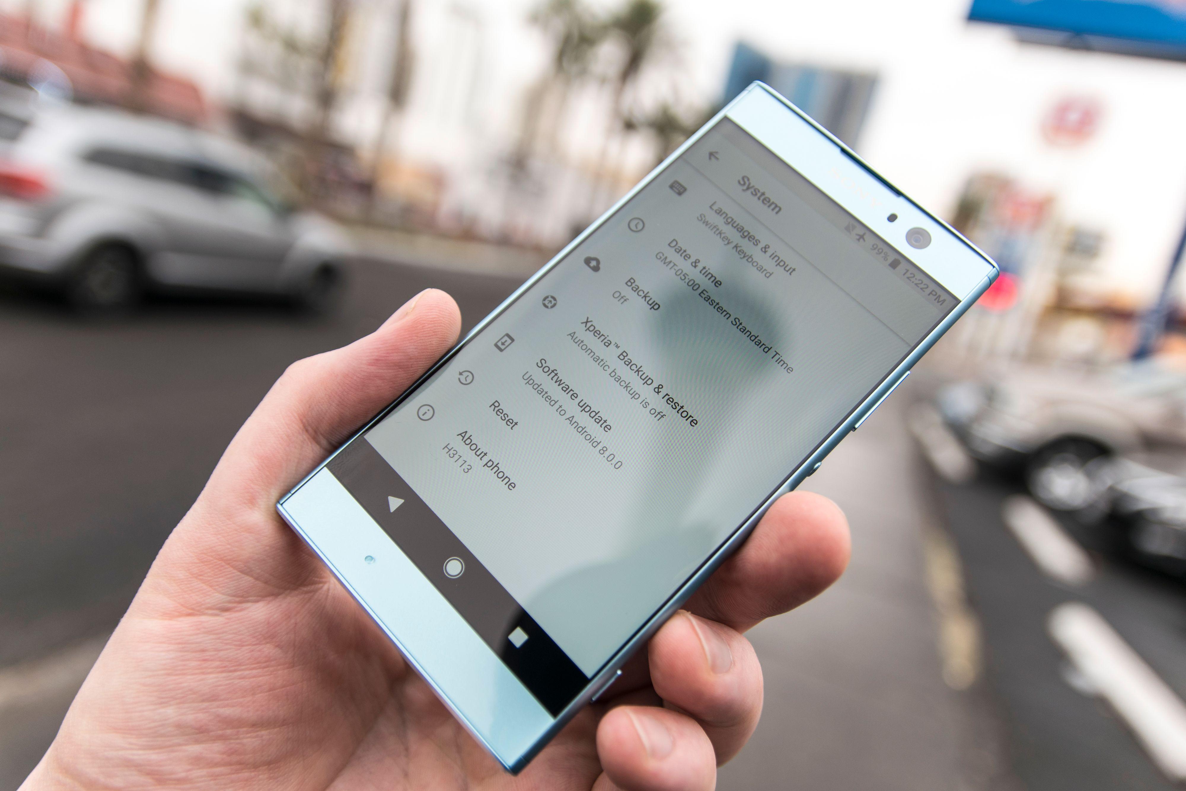 Android 8 er her rett ut av esken. Bilde: Finn Jarle Kvalheim, Tek.no