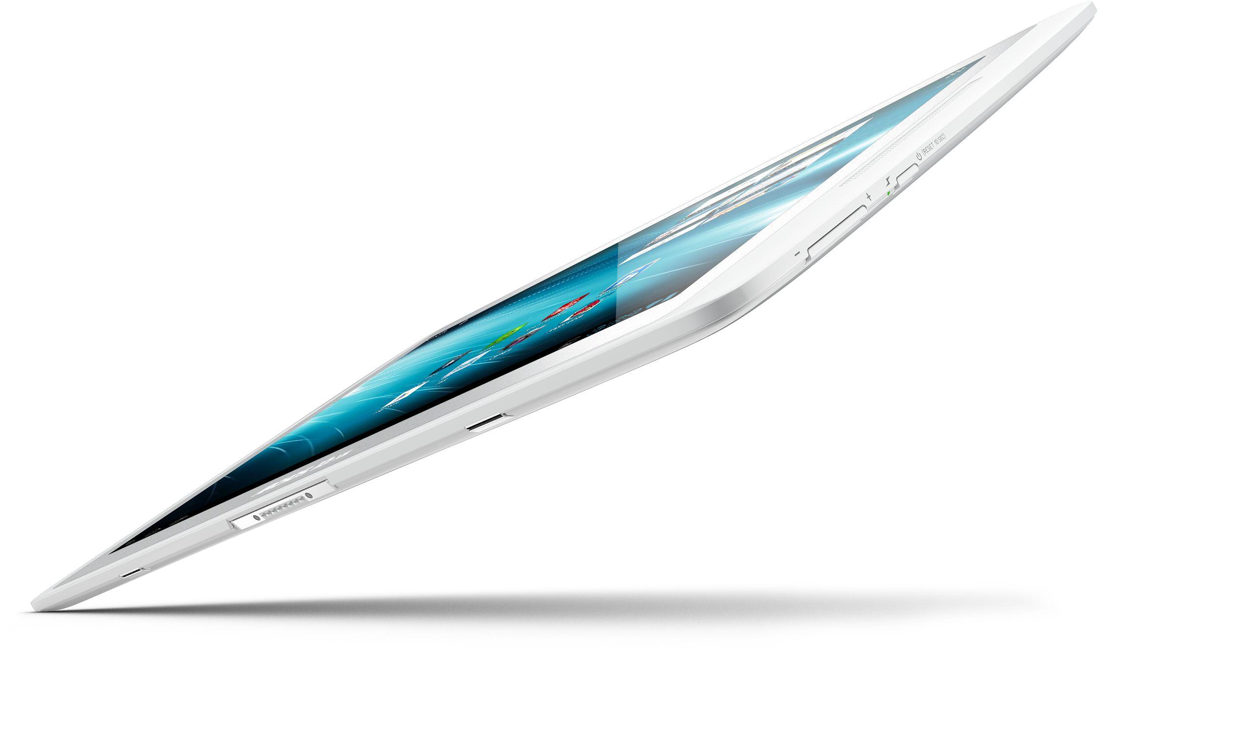 Med en tykkelse på bare 8 millimeter er nettbrettet 15 prosent tynnere enn iPad.Foto: Archos