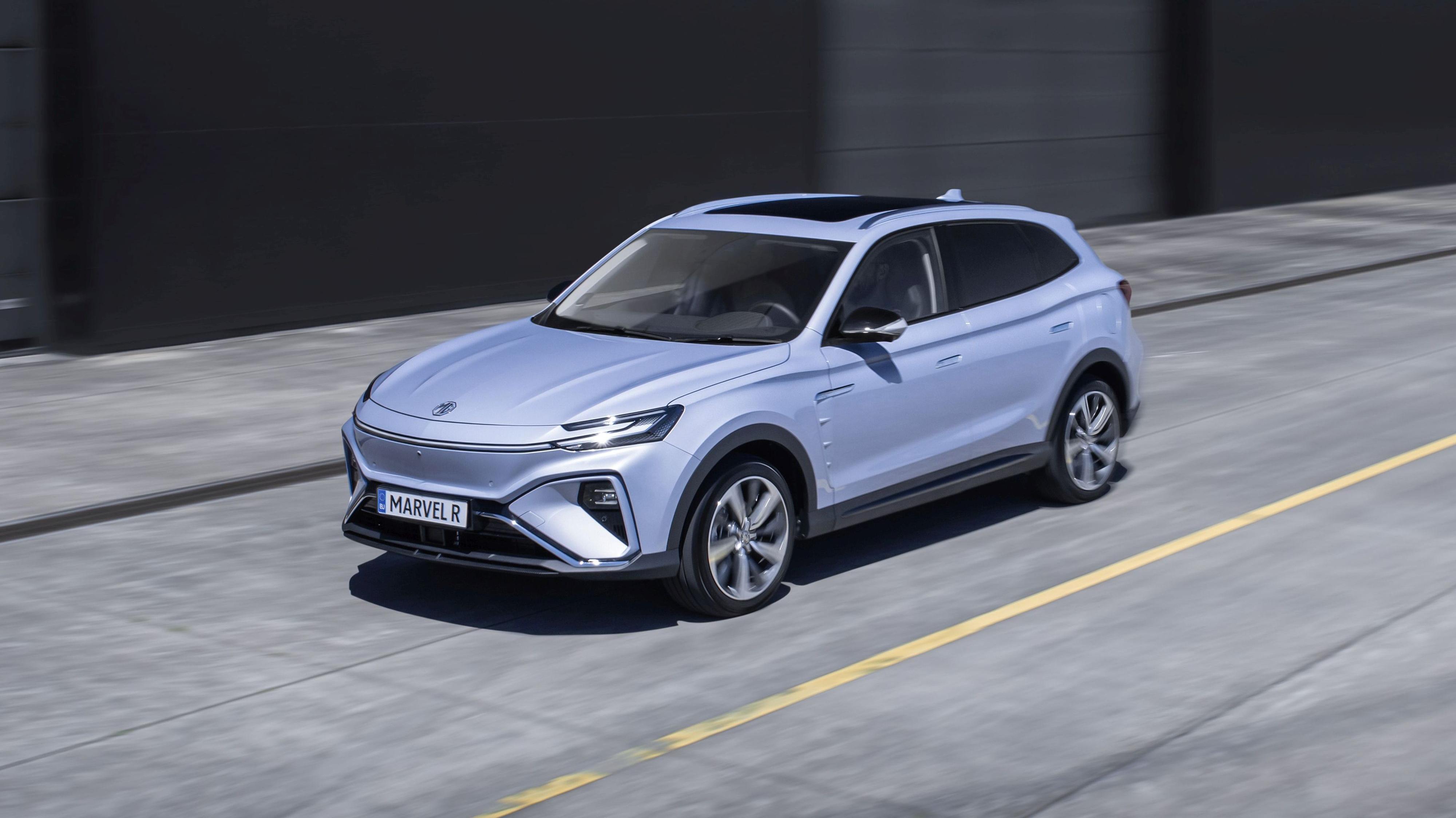 Marvel R er den nye el-SUV-en fra MG. Den blir mulig å beskue for nordmenn allerede senere denne måneden.