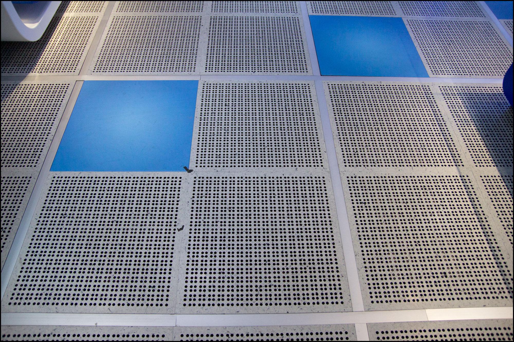 Gulvet i en prosessorfabrikk