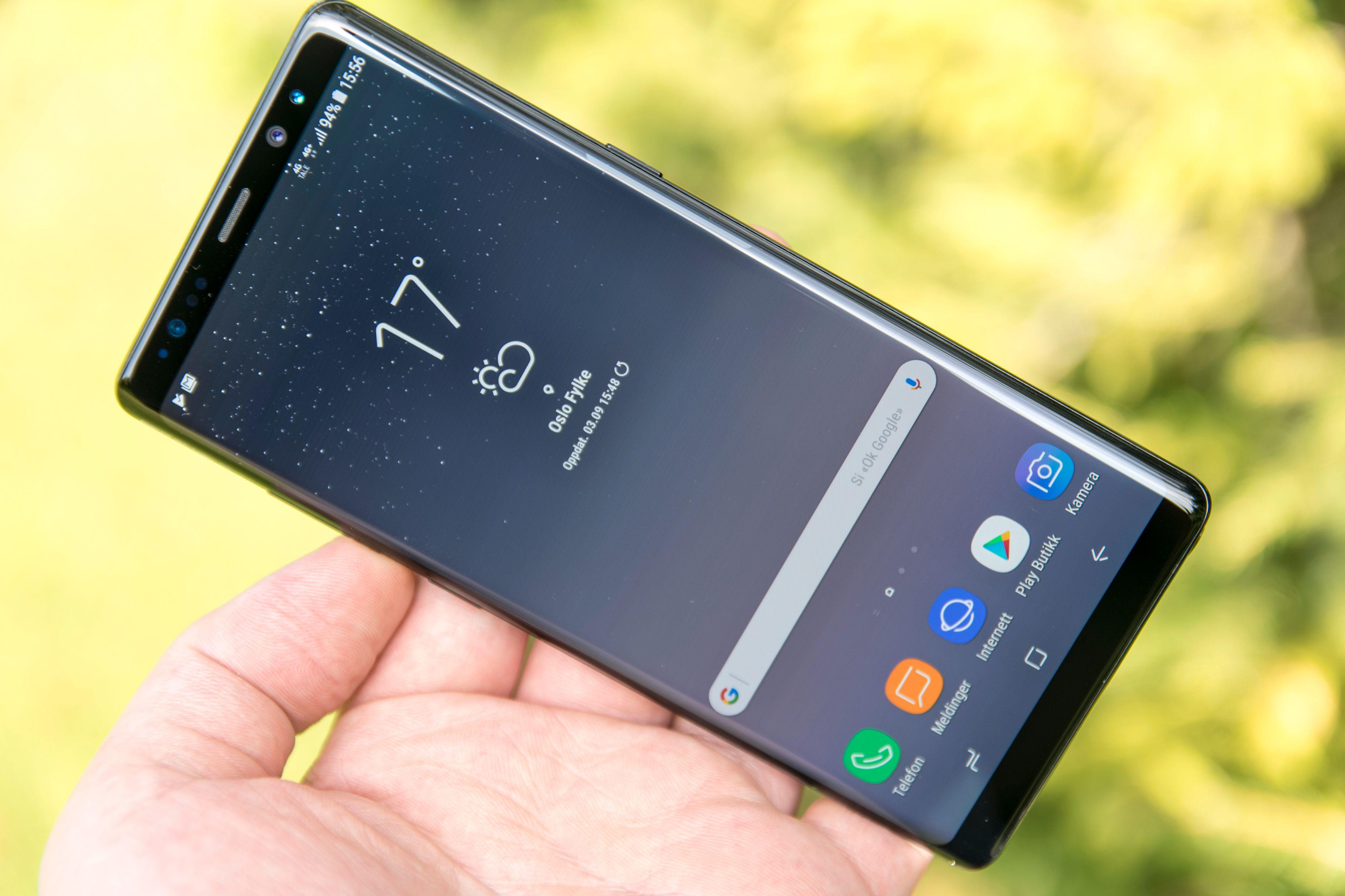 Samsung Galaxy Note 8 fikk nylig støtte for HDR på Netflix, og nå følger YouTube etter.