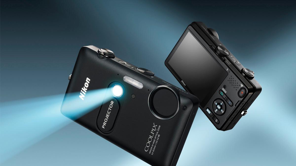 Projektor og kamera i ett