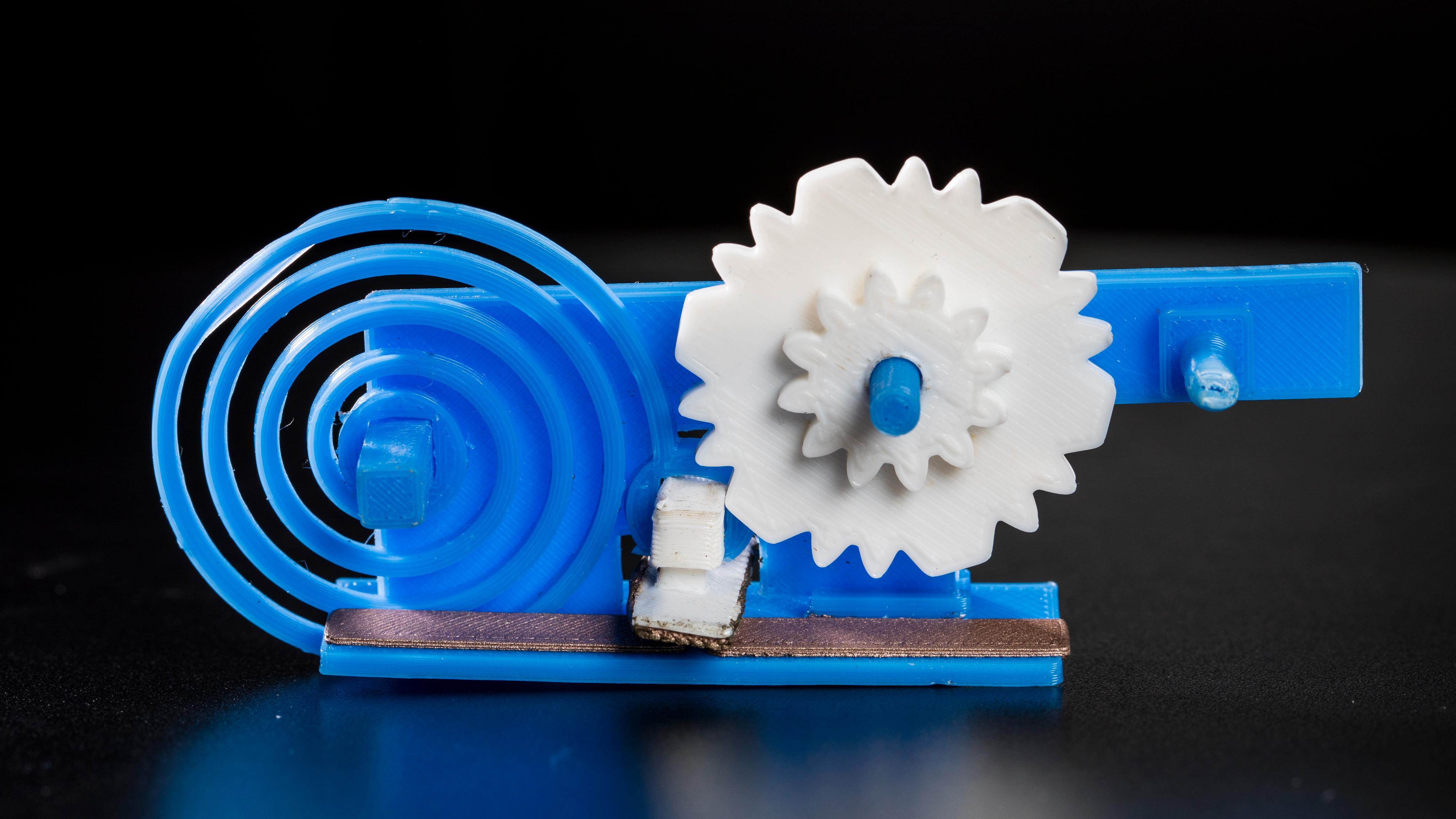 Denne 3D-skrevne plastdingsen kan kobles på nettet – uten batteri og elektronikk