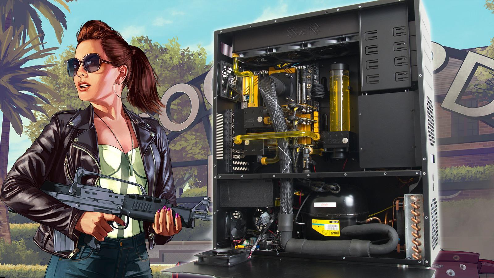 Her er Norges råeste spilldatamaskin