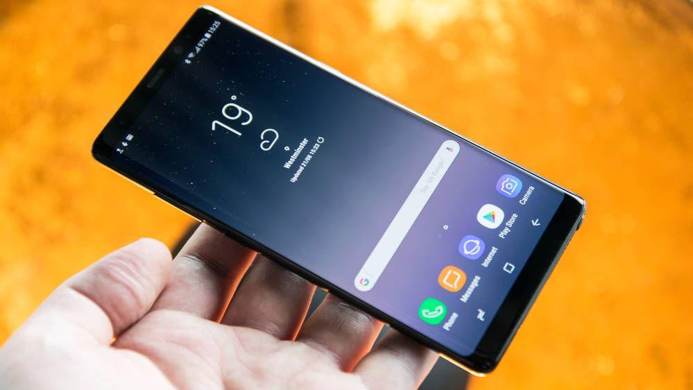 Vi har allerede fått prøve Samsung Galaxy Note 8, men kjenner vi Samsung rett vil den fortsatt få mye oppmerksomhet på IFA-messen.. Bilde: Finn Jarle Kvalheim, Tek.no