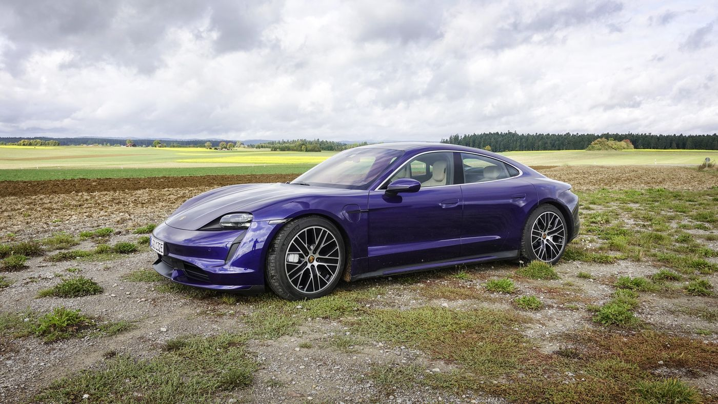 Porsche Taycan får lavere rekkevidde enn Nissan Leaf i USA