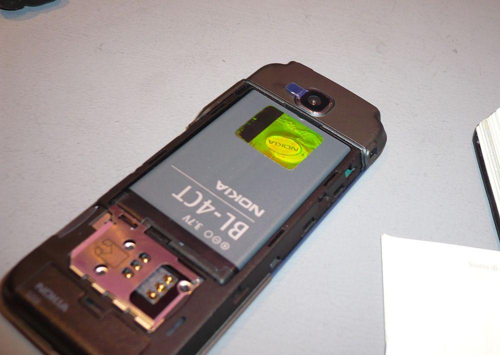 Batteriet er av den lille og tynne typen. (Foto: Einar Eriksen)