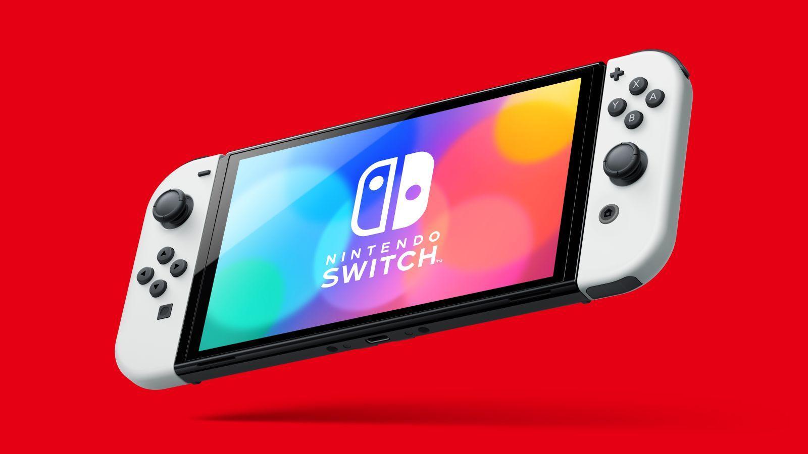 Nintendo Switch får OLED-skjerm og større lagring.