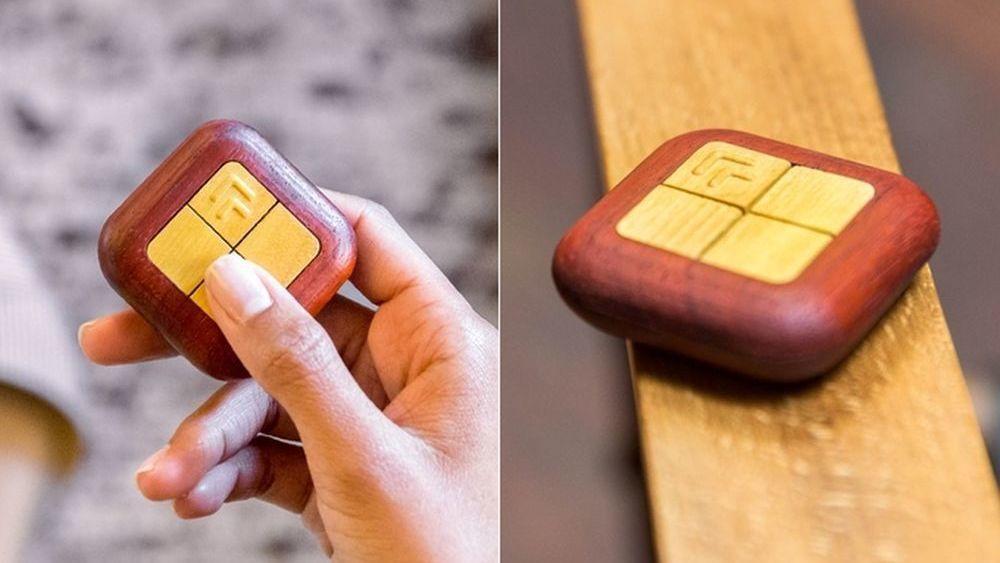Nå kan du styre smarthjemmet ditt med en lekker fjernkontroll av tre