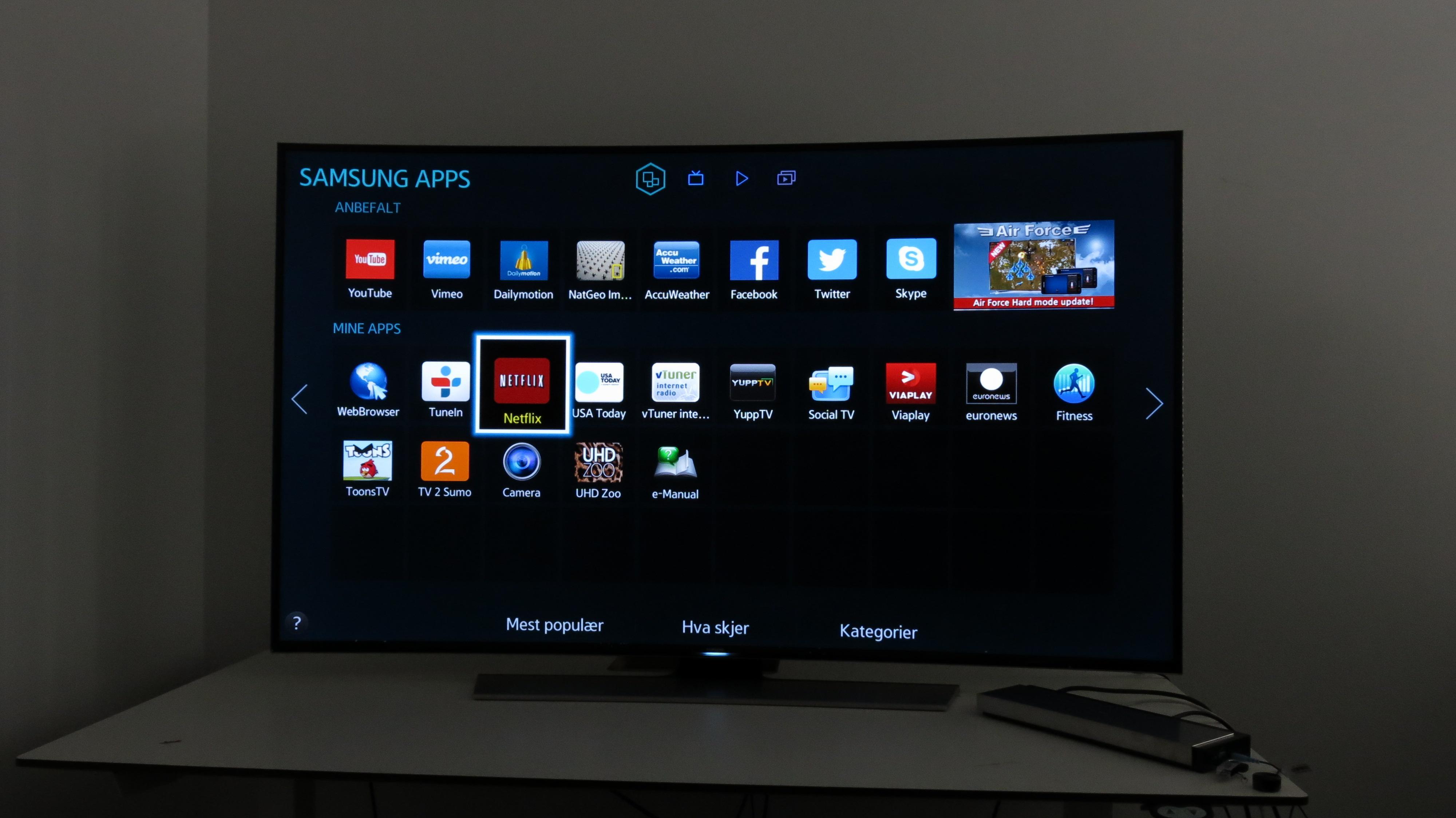 Den nye Netflix-appen har samme ikon som før. (Foto: Ole Henrik Johansen / Hardware.no)