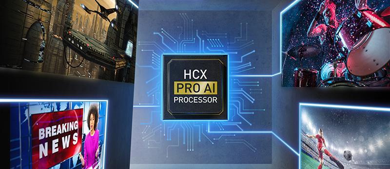 Panasonic er en av flere som bruker AI i sin nye prosessor for å bedre bildekvaliteten.