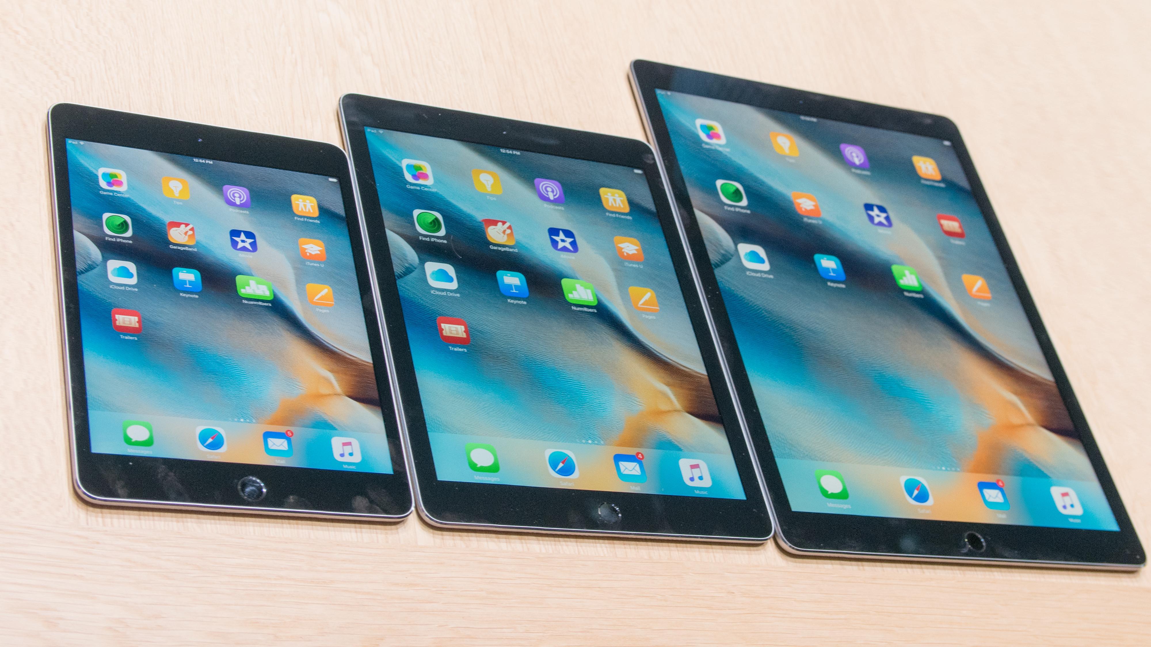 Apple iPad Pro og Apple Pencil