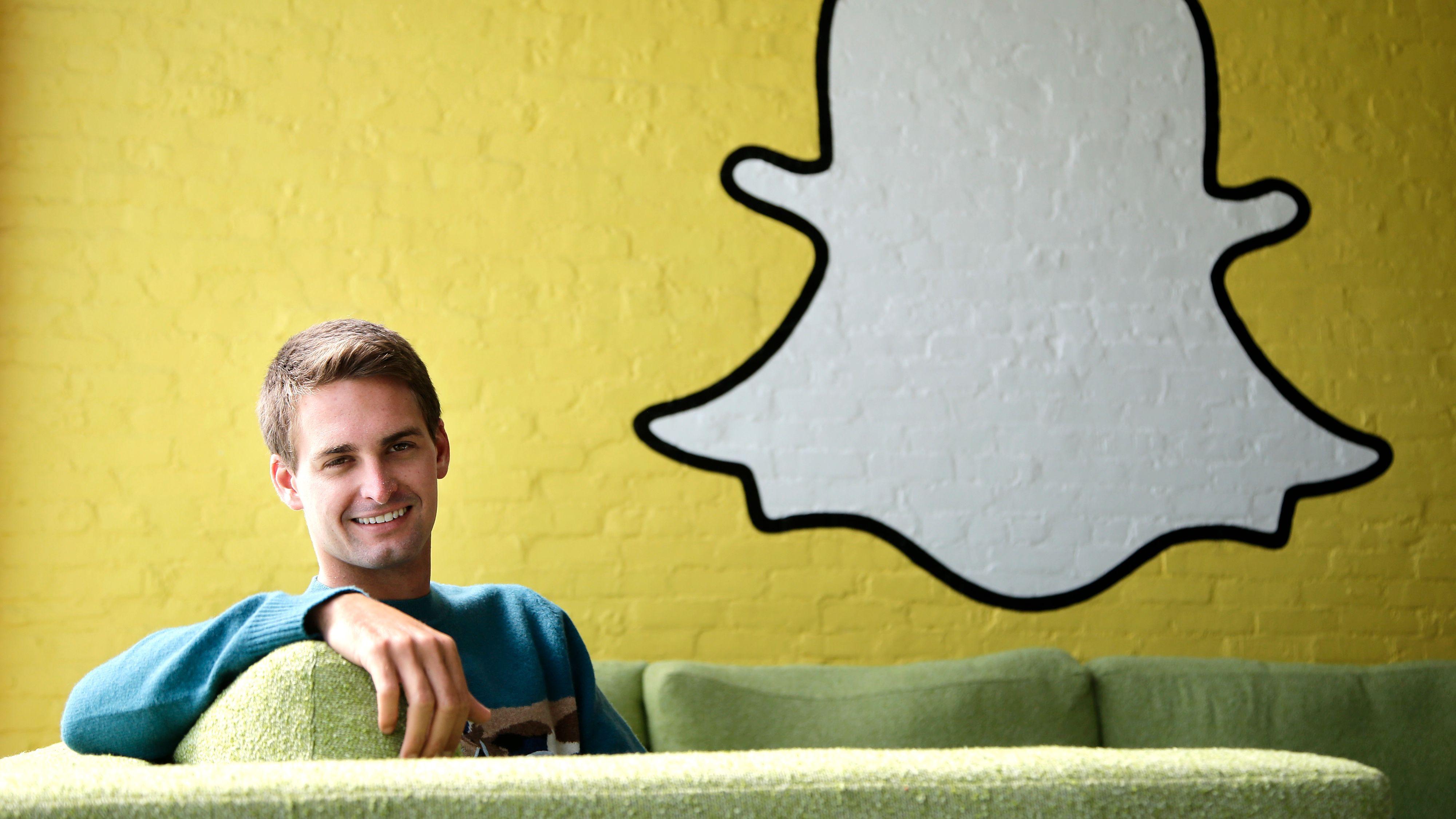 Snapchat-sjefen om Facebook-kopiering: – Vi hadde satt pris på det om de kopierte personvernet også