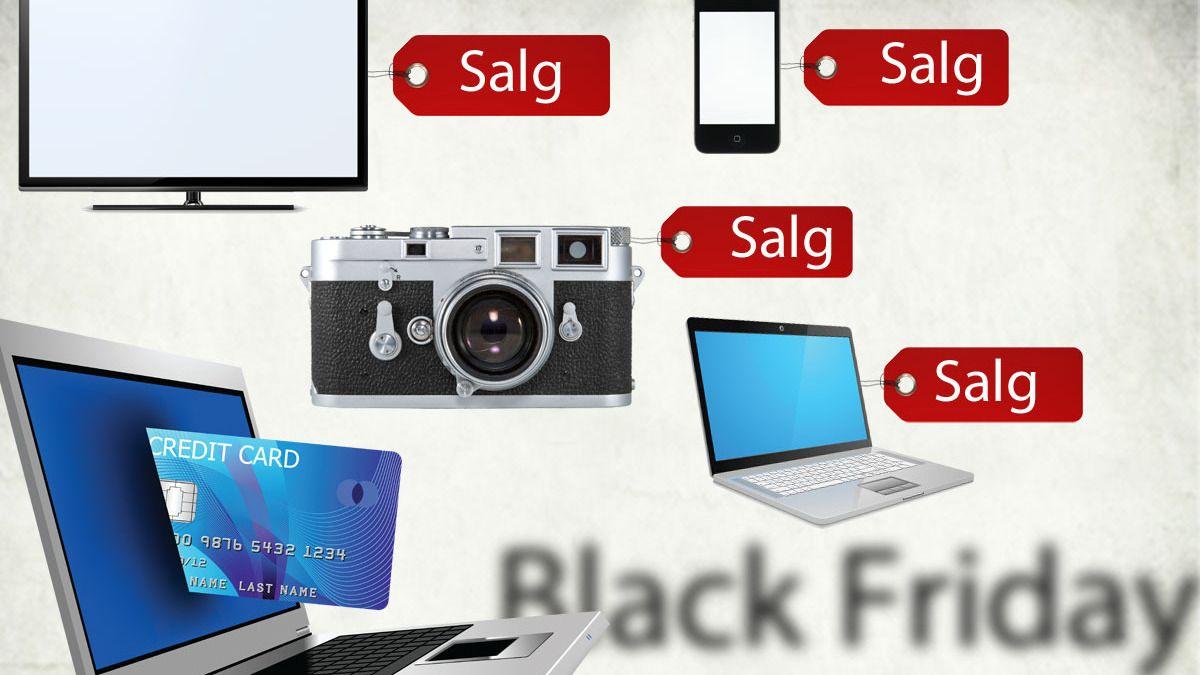 Black Friday-salget er i gang