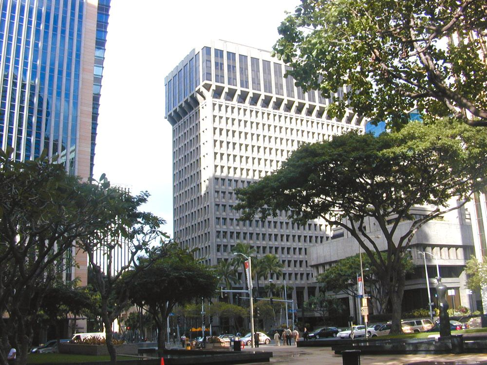 Honolulu, her avbildet, innfører strenge mobillover for fotgjengere..